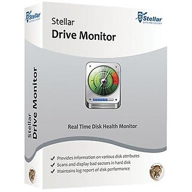 Stellar – Logiciel de contrôle des systèmes Drive Monitor pour Mac (1 utilisateur) [téléchargement]