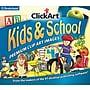 Broderbund ClickArt Kids & School for Windows (1