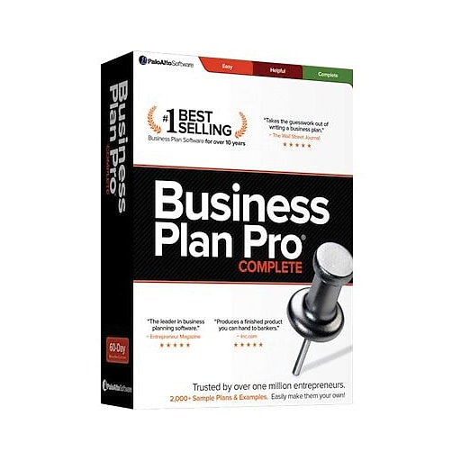 business plan pro complete download staples