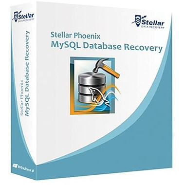 Stellar Phoenix MySQL Database Recovery for Windows (1 User) [Download]