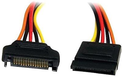 StarTech® SATAPOWEXT12 Power Extension Cable For SATA Drive, 1'(L)