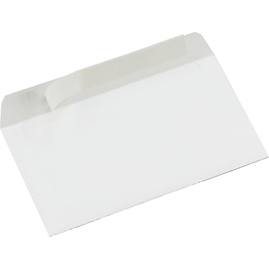 Staples® Envelopes White #8, 3 5/8 x 6 1/2, 65/Box - QuickStrip