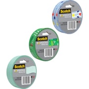 "Scotch® Expressions Masking Pattern Tape, 1"" x 20 yds"