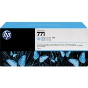 HP 771 Light Cyan Ink Cartridges (B6Y44A), 3/Pack