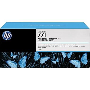HP 771 Photo Black Ink Cartridges (B6Y45A), 3/Pack