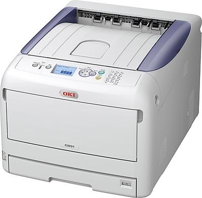OKI® C831N Single-Function Color Laser Printer (OKI62441001)