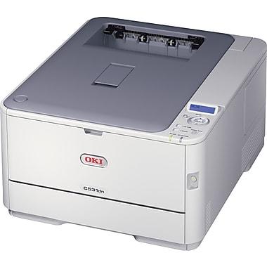 OKI® C531DN Color Laser Single-Function Printer, 62443701