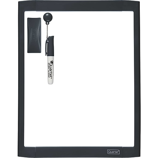 Quartet Dry Erase Board 85 X 11 Assorted Color Frame Shorty