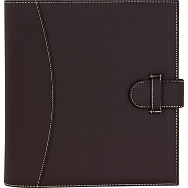 It's Academic Executive 1-Inch D-Ring Binder, Brown (92876)
