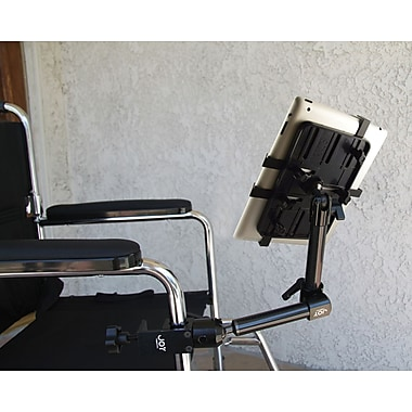 The Joy Factory Unite™ Universal Tablet Carbon Fiber Wheelchair Mount