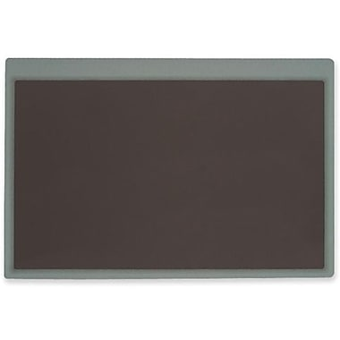 Nova – Sous-main ultra mince, 18 larg. x 24 prof. (po), transparent/noir