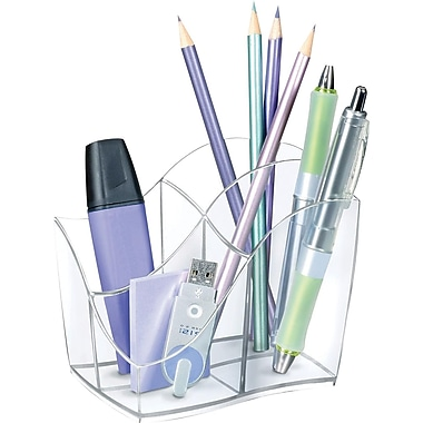 Greenside Isis Pencil Holder, Clear