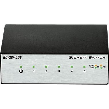 D-Link – Commutateur en métal, Gigabit à 5 ports, GO-SW-5GE