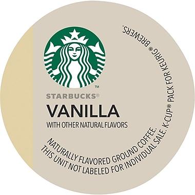 Keurig® K-Cup® Starbucks® Vanilla Coffee, Regular, 16 Pack