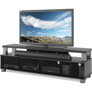 "Sonax Bromley Collection 75"" 2 Tier TV Bench, Ravenwood Black"