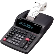 Casio 2-Colour Professional Printing Calculator, with 12-Digit Large Display (DR210TM)