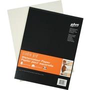 Studio ProMD – Livre de papier pour aquarelle, rembourré, 15 feuilles, 9 x 12 po