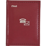 "Mead® Index Telephone and Address Book,  3"" x 4"", Assorted Colours"