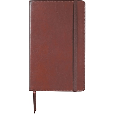 Mead® Bonded Leather Bungee Journal, 5 - 1/8