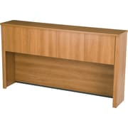 Bestar Embassy Collection Credenza Hutch, Cappuccino Cherry