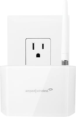 Amped Wireless REC10 High Power 600mW Compact Wi-Fi Range Extender