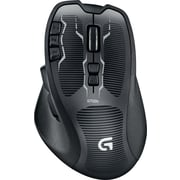 Logitech G700s Wireless Rechargeable Gaming Laser Mouse, Black (910-003584)