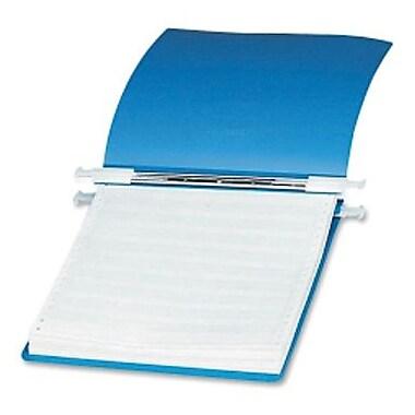 Acco - Reliure en vinyle pour données, 6 po, bleu