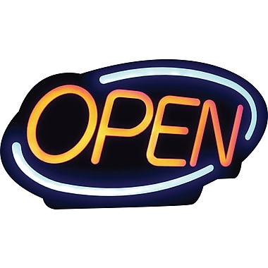 Royal Sovereign® LED Open Sign, English