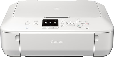 Canon PIXMA MG5520 White Wireless Photo All-in-One Inkjet Printer
