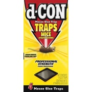 d-CON® Mouse Glue Traps, 48/Cs