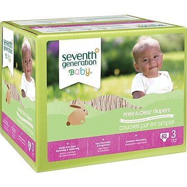 Seventh Generation® Diapers, Stage 3