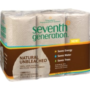 Seventh Generation® 100% Recycled Paper Towel Roll With Right Size Sheets, 2-Ply, 6 Rolls/Pack