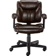 Staples Telford II Luxura Managers Chair, Brown