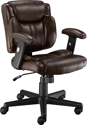 Staples Telford Ii Luxura Managers Chair Brown Staples