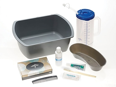 Medline Premium Admission Kits w/Carfe, 12/Pack