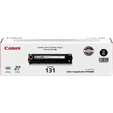 Canon® 131 Black Toner Cartridge (6272B001)
