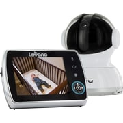 Levana® Keera™ 3.5 inch PTZ Digital Baby Monitor with Talk to Baby Intercom and Video/Photo to SD Recording