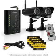 Defender® PX301-012 Digital Wireless DVR Security System w/ receiver, SD Card Recording & 2 Long Range Night Vision Cameras