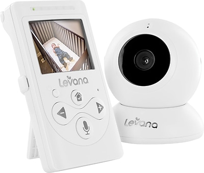 Levana® Lila™ Digital Baby Video Monitor with Night Vision and Talk to Baby Intercom