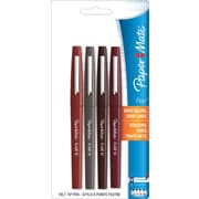 Paper Mate Flair Medium Point Marker Pen, Assorted, 4/Pack (1860741)