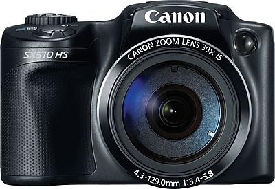 Canon Powershot SX510 HS Digital Camera, Black