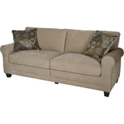 "Serta RTA Copenhagen Collection, 73"" Fabric Sofa, Vanity"