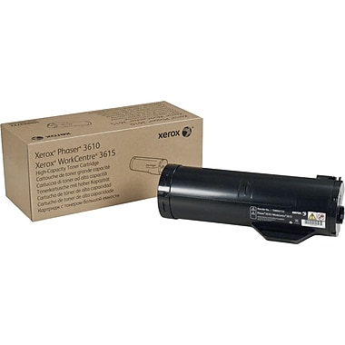 Xerox Toner Cartridge, Black, High Yield (106R02722)