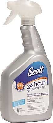 Scott® 24 Hour Sanitizing Spray, 32 oz.