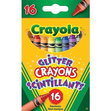 CrayolaMD – Crayons à paillettes, 16/paquet