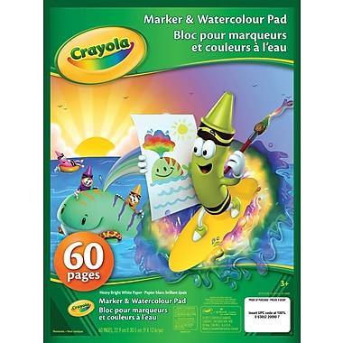 Crayola® Marker and Watercolour Pad