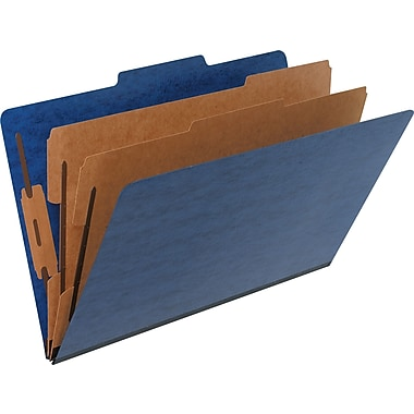Pendaflex® Pressguard® Classification Folder, Legal, Blue, 2/Pack