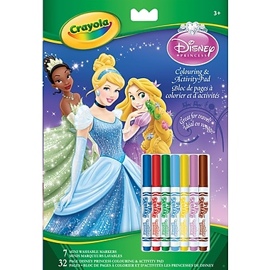 Crayola® Art and Activity Book - Princess