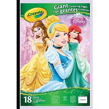 Crayola® Princess Giant Colouring Pages