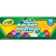 Crayola® Washable Paint Jars, 10/Pack